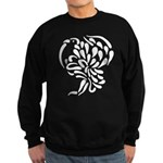 Stylized Turkey Sweatshirt (dark)