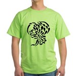 Stylized Turkey Green T-Shirt