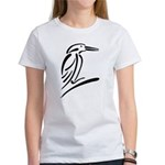 Stylized Kingfisher Women's T-Shirt