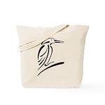 Stylized Kingfisher Tote Bag