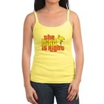 The Bird Is Right Jr. Spaghetti Tank