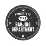 Property of Banding Dept Wall Clock
