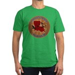 Louisiana Birder Men's Fitted T-Shirt (dark)