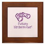 Future Birdwatcher Framed Tile