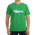 Finding Birds Men's Fitted T-Shirt (dark)