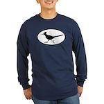 Roadrunner Oval Long Sleeve Dark T-Shirt
