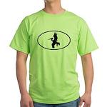 Pelican Oval Green T-Shirt