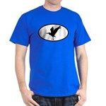 Heron Oval Dark T-Shirt