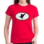 Heron Oval Women's Dark T-Shirt