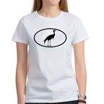 Crane Oval Women's T-Shirt