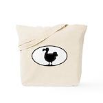 Dodo Oval Tote Bag