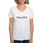 Pish Off Women's V-Neck T-Shirt