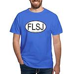 FLSJ Florida Scrub-Jay Alpha Code Dark T-Shirt