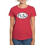 FLSJ Florida Scrub-Jay Alpha Code Women's Dark T-S