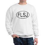 FLSJ Florida Scrub-Jay Alpha Code Sweatshirt