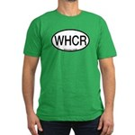 WHCR Whooping Crane Alpha Code Men's Fitted T-Shir
