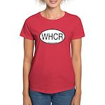 WHCR Whooping Crane Alpha Code Women's Dark T-Shir