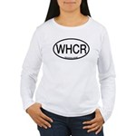 WHCR Whooping Crane Alpha Code Women's Long Sleeve