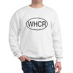 WHCR Whooping Crane Alpha Code Sweatshirt