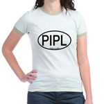 PIPL Piping Plover Alpha Code Jr. Ringer T-Shirt