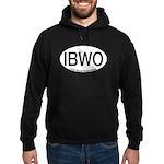 IBWO Ivory-billed Woodpecker Alpha Code Hoodie (da