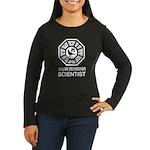 Dharma Birder Women's Long Sleeve Dark T-Shirt