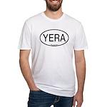 YERA Yellow Rail Alpha Code Fitted T-Shirt