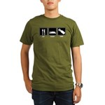 Eat Sleep Pish Organic Men's T-Shirt (dark)