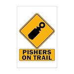 Pishers on Trail Mini Poster Print