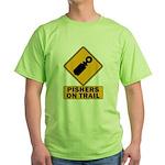 Pishers on Trail Green T-Shirt