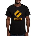 Pishers on Trail Men's Fitted T-Shirt (dark)