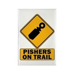 Pishers on Trail Rectangle Magnet