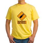 Pishers on Trail Yellow T-Shirt