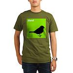 iBand (green) Organic Men's T-Shirt (dark)