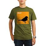 iBand (orange) Organic Men's T-Shirt (dark)