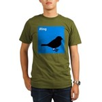 iRing (blue) Organic Men's T-Shirt (dark)