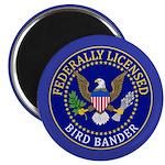 Licensed Bird Bander Magnet
