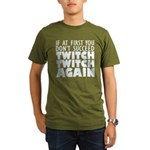 Twitch Twitch Again Organic Men's T-Shirt (dark)