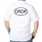 OROR Orchard Oriole Alpha Code Golf Shirt