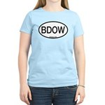 BDOW Barred Owl Alpha Code Women's Light T-Shirt