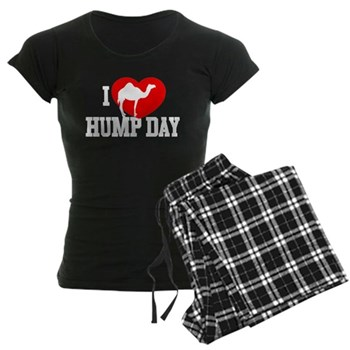 I Heart Hump Day Women's Dark Pajamas