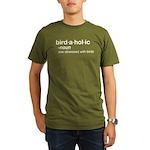 birdaholic Organic Men's T-Shirt (dark)