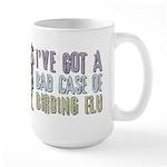 Birding Flu Large Mug