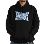 Birds Well With Others Hoodie (dark)