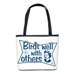 Birds Well With Others Bucket Bag
