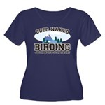 Coed Naked Birding Women's Plus Size Scoop Neck Da